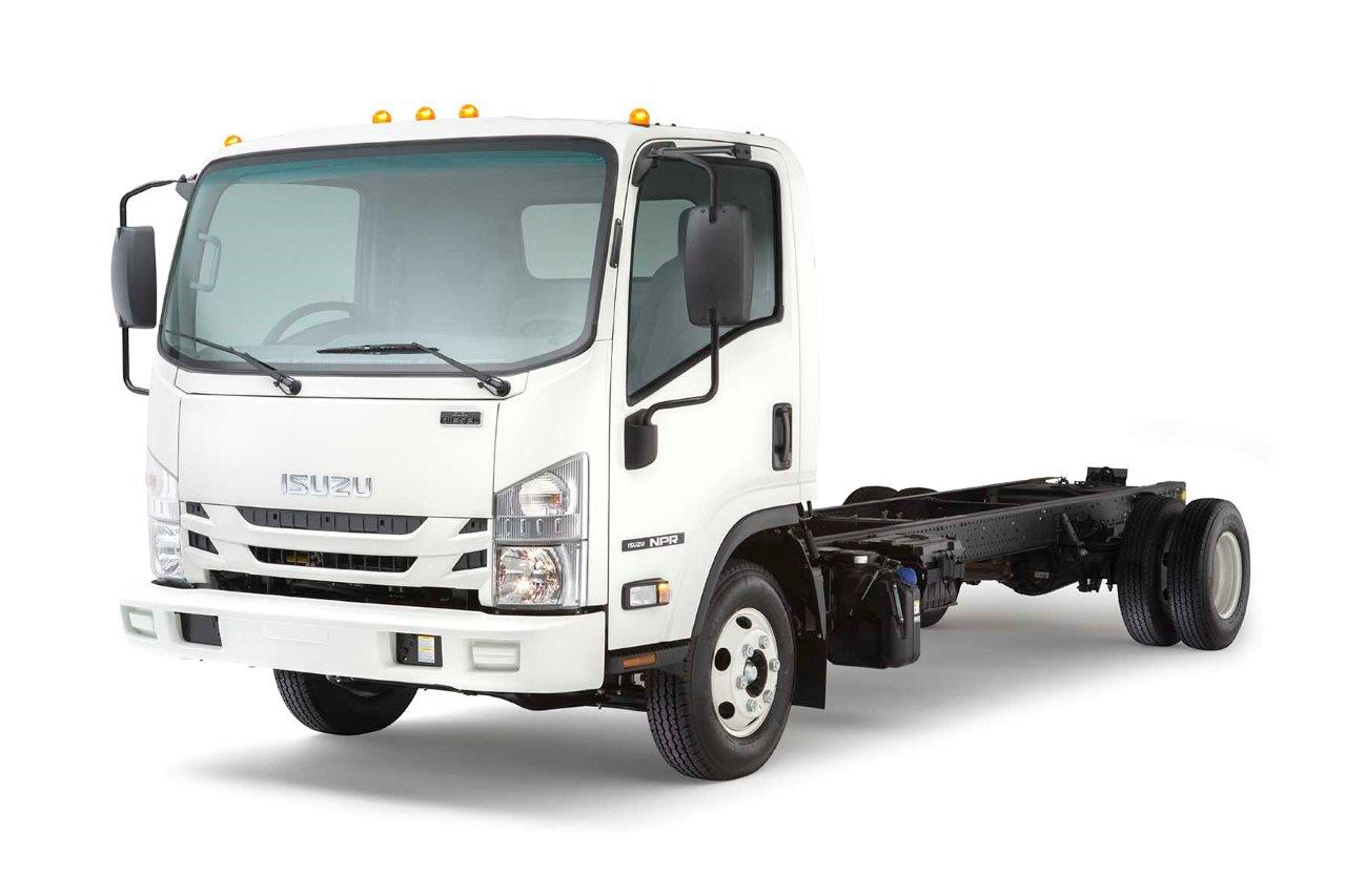 isuzu introduces 2016 13 000 lb gvwr npr diesel nextran. Black Bedroom Furniture Sets. Home Design Ideas