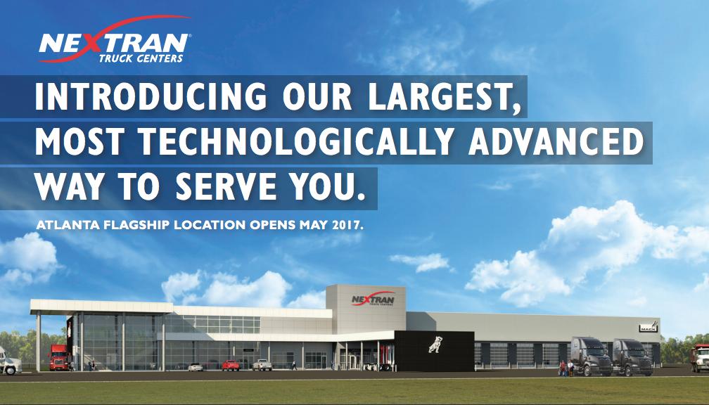Atlanta Truck Center >> Nextran Truck Centers Opens Atlanta Area Truck Center Nextran