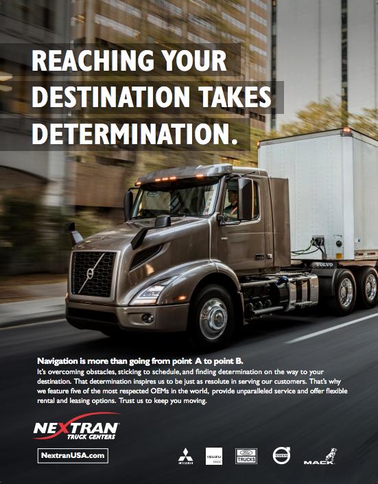 Reach Your Destination - Nextran Truck Centers