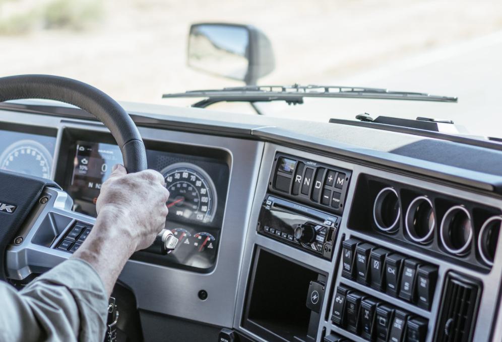 Mack Truck Dashboard