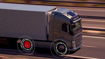 Tire Monitoring System - Volvo Trucks