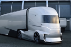 Self-Driving Electric Truck - Ford FVision Concept