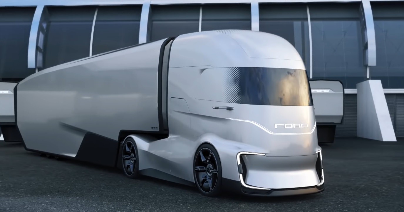 Ford Trucks Unveils Self Driving Electric Truck Scoops Up International Of The Year Nextran