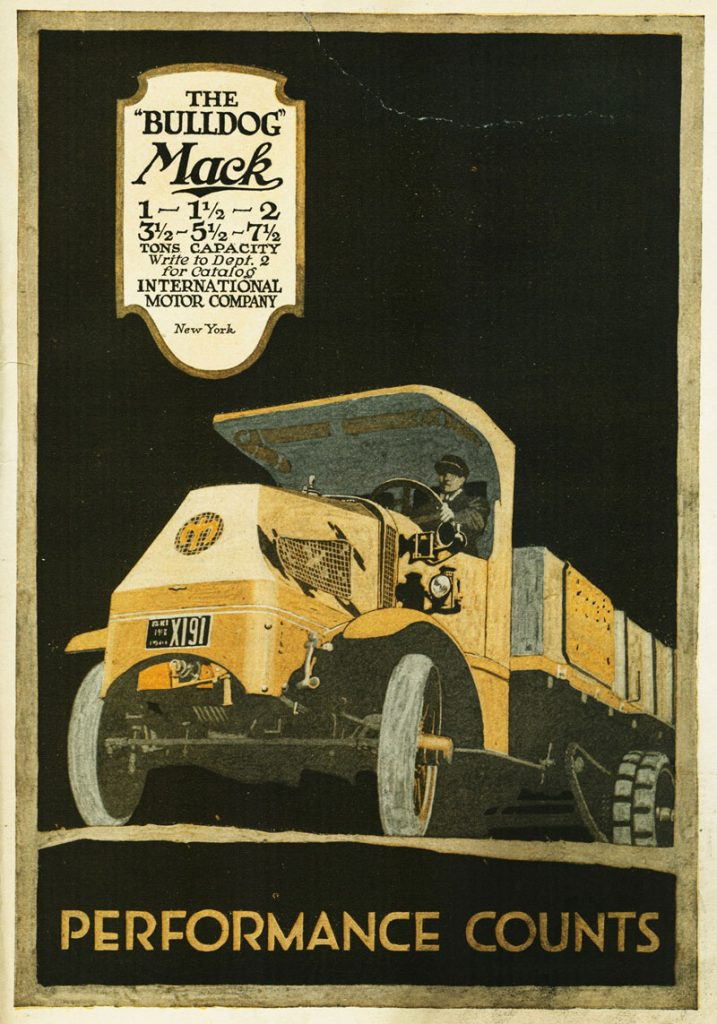 The Bulldog Mack Truck