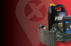 Red image with an X, oil, parts and a battery. Big Red X is the biggest Nextran parts and service sale of the year.